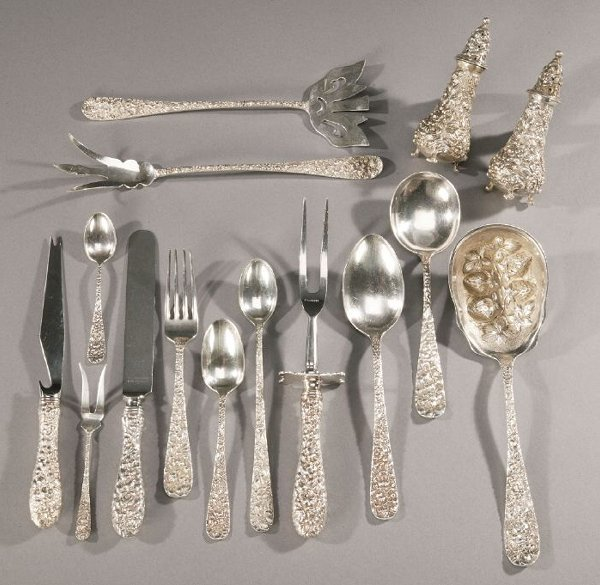 6: A ONE-HUNDRED-EIGHTY-PIECE AMERICAN SILVER