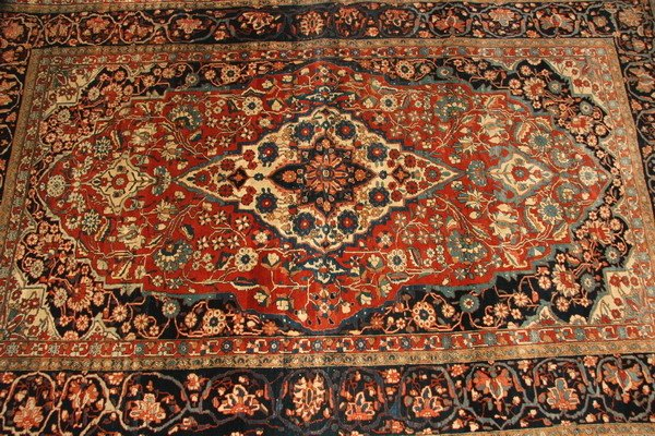 166: FARAHAN RUG. - Approx. 4 ft. 5 in. x 6 ft. 10 in.