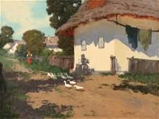 1327 LASZLO NEOGRADY Hungarian 18961962 VILLAGE L