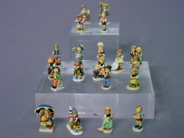 2246: A Collection of Miniature Hummel Painte