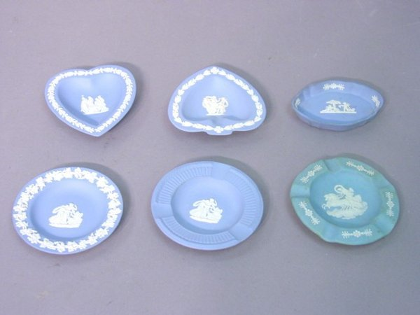 2001: A Collection of Six Wedgewood Blue Jasp