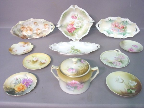 2009: Eleven Pieces R.S. Germany Floral Decor