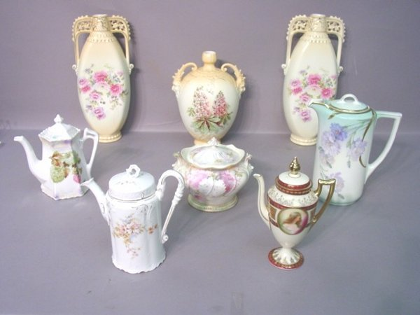 2012: Seven Pieces of Continental Porcelain I