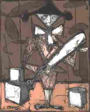 CLAUDE VENARD (French, 1913-1987). PIERR