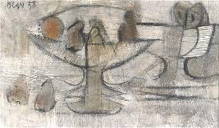 FERIT ISCAN (Turkish/French, b. 1931). A