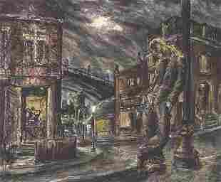 ROBERT CLINGER (American, 20th century).