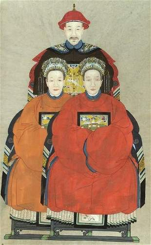 ANONYMOUS (Chinese, 19th century). Ances