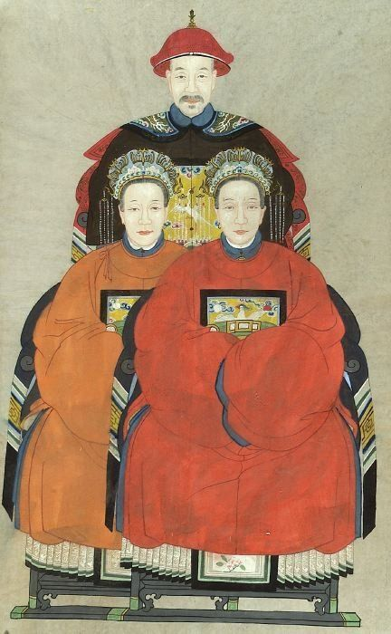 650: ANONYMOUS (Chinese, 19th century). Ances