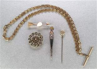 A GROUP OF MISCELLANEOUS JEWELRY. Includ