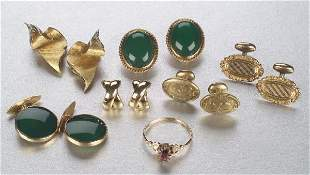 A COLLECTION OF MISCELLANIOUS JEWELRY. I
