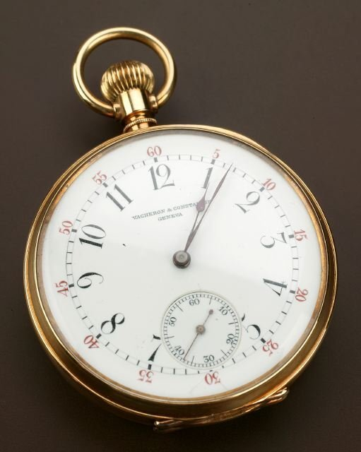 716: A LATE 19TH CENTURY 18K YELLOW GOLD AND