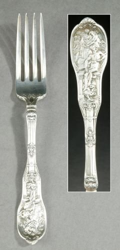 742: A COLLECTION OF GORHAM STERLING FLATWARE, circa 19