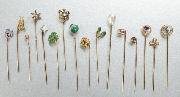 1256: A Collection of Stick Pins.