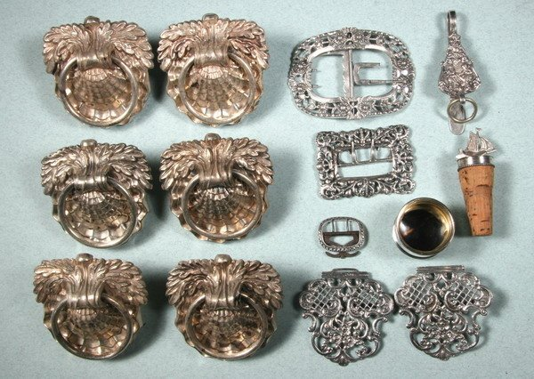 398: GROUP CONTINENTAL AND ENGLISH SILVER AND SILVER PL