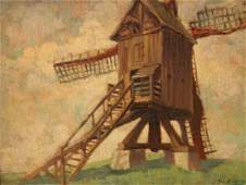 675A: GEORGES SECHEIN ? (Belgian, early 20th century).