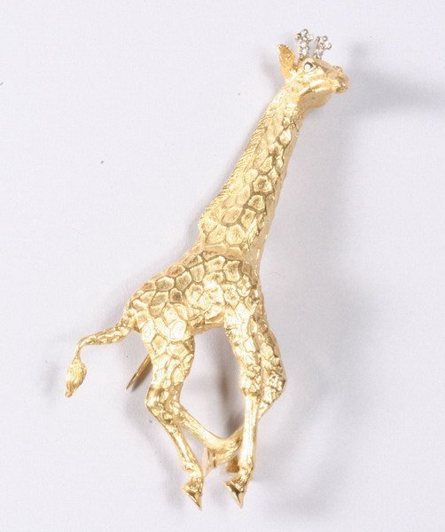 1038: 18K YELLOW GOLD PIN, TIFFANY & CO.