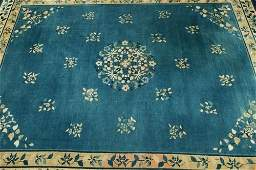 523: AN ANTIQUE MING CHINESE RUG
