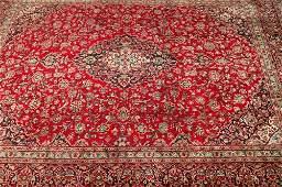 570: AN IRANIAN KASHAN RUG