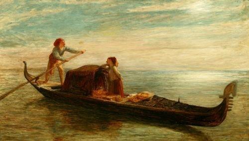 1076: WILLIAM QUILLER ORCHARDSON (English, 1832-1910).