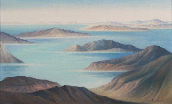 1507: CARLOS OROZCO ROMERO (Mexican, 1898-1984). MONTA?