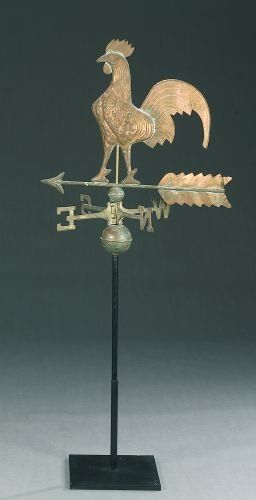 1167: AN AMERICAN COPPER WEATHERVANE, late 19th/early 2