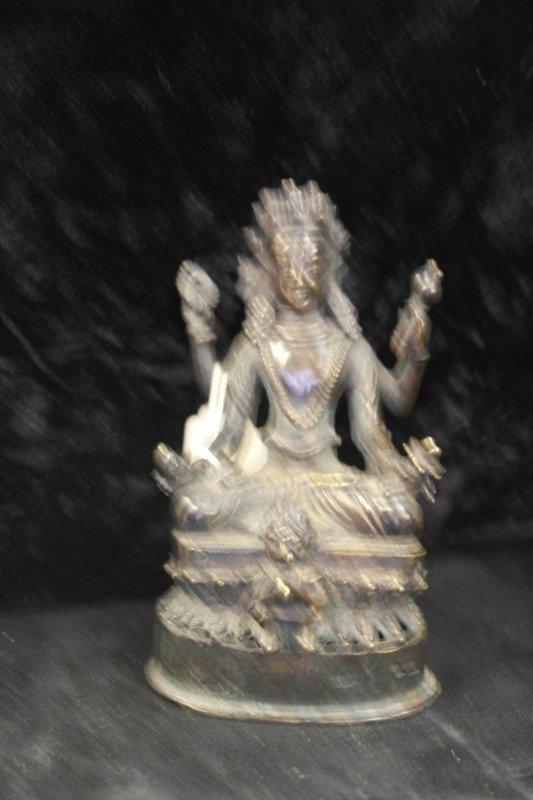 Bronze avalokitshvara bodhisattva goddess of compassion