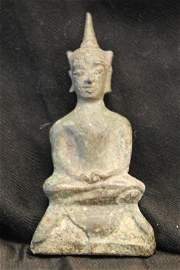 16th c Bronze sino Thai buddha