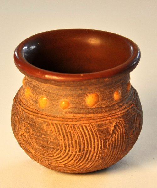 A  rare Song Dynasty Ganzhou rice measure the brown gla