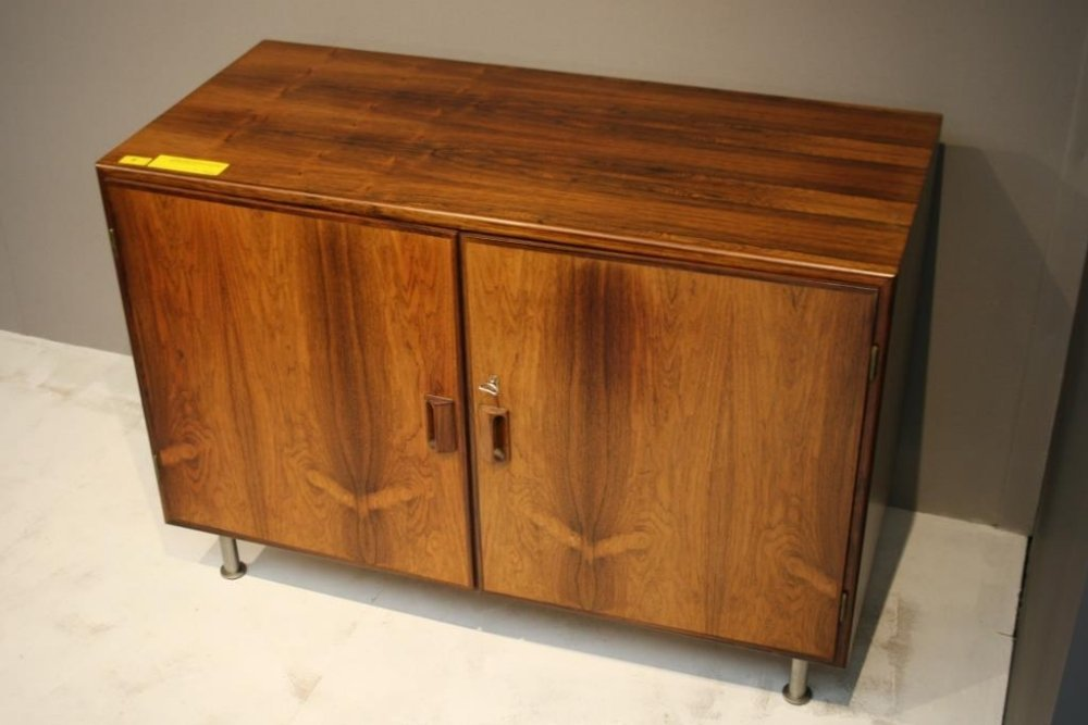 A Danish rosewood sideboard c1960s made by Hundevad wit