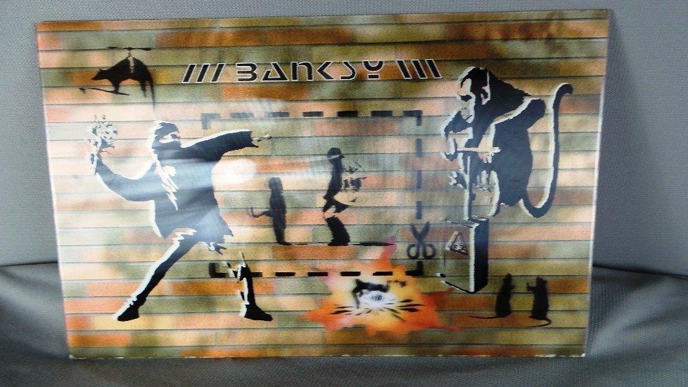 From Banksy's studio in Portobello prior to 2003: A