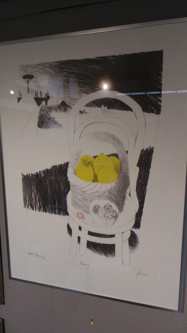 A Mary Fedden artists proof print 'Artists Proof III /