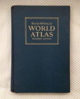 1943 RAND McNALLY WORLD ATLAS