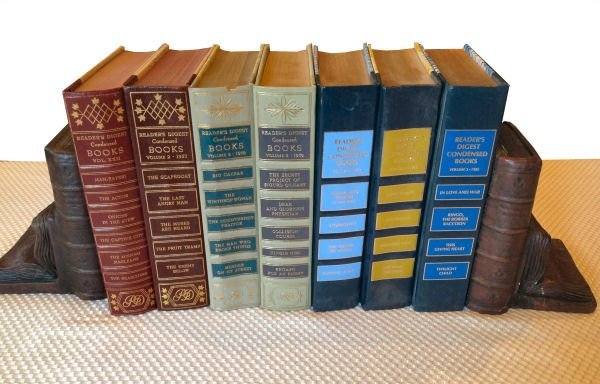 Lot of 7 READER'S DIGEST CONDENSED BOOKS 1950'S-80'S