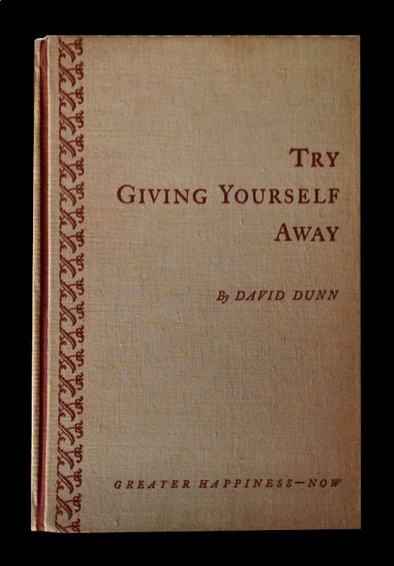 TRY GIVING YOURSELF AWAY - Dunn