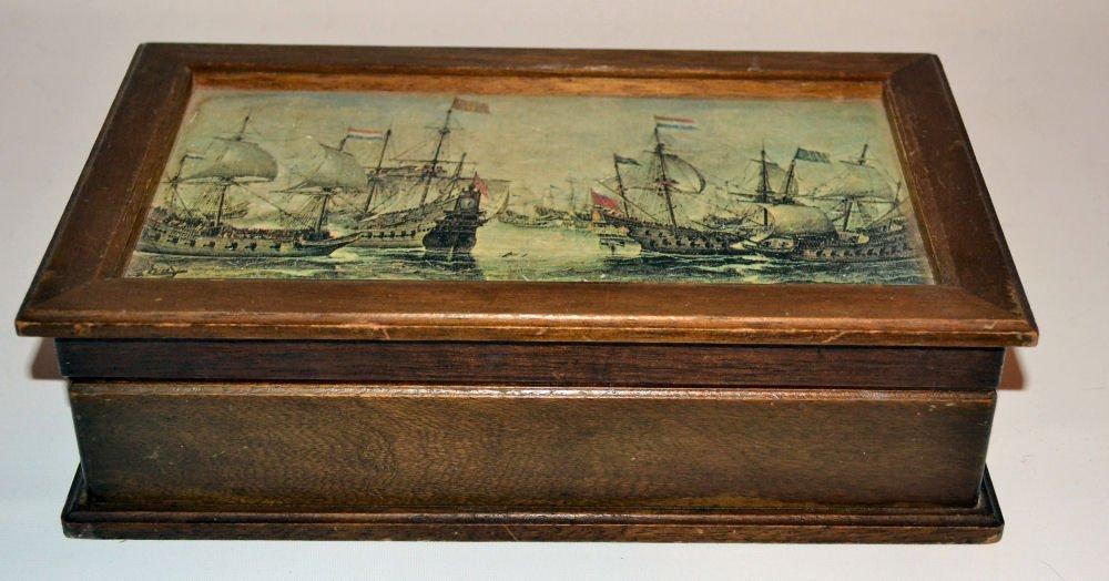 Vintage Wood Jewelry or Dresser Box