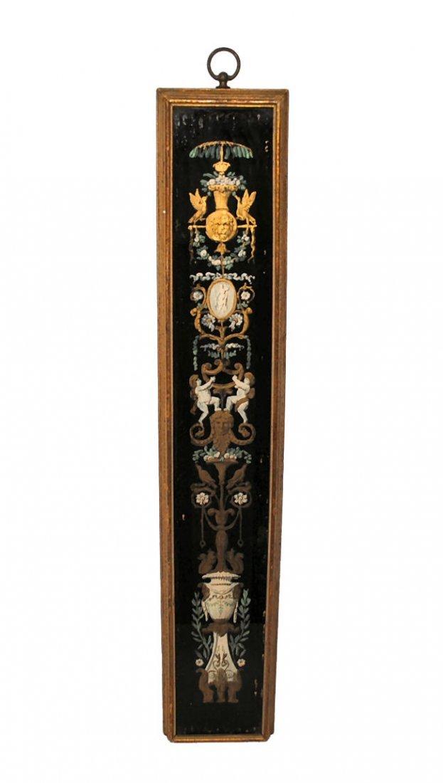 Sungott Reverse Painted Artglass