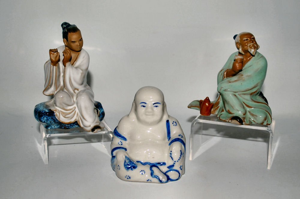 Lot/3 Chinese Figurines