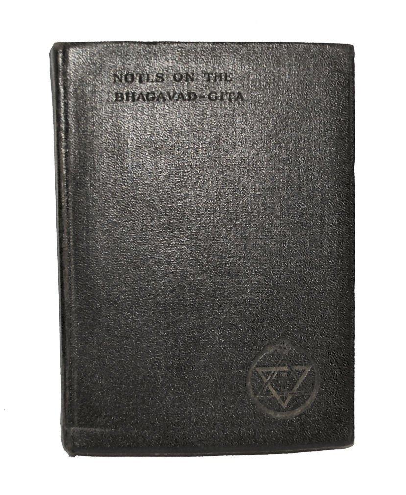 1928 Notes on the Bhagavad-Gita