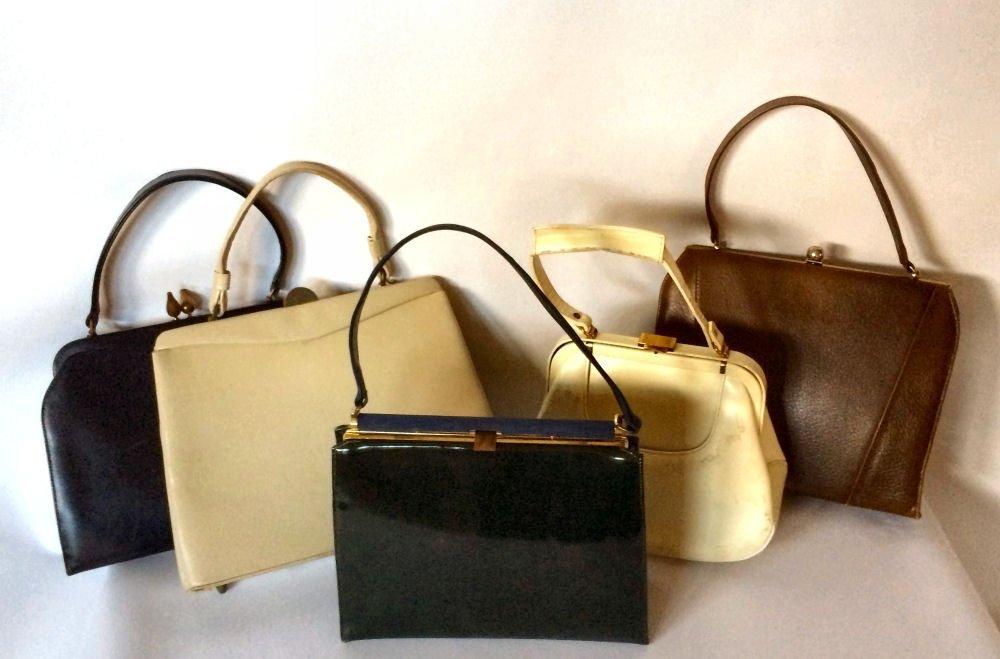 Lot of 5 Vintage Designer Purses