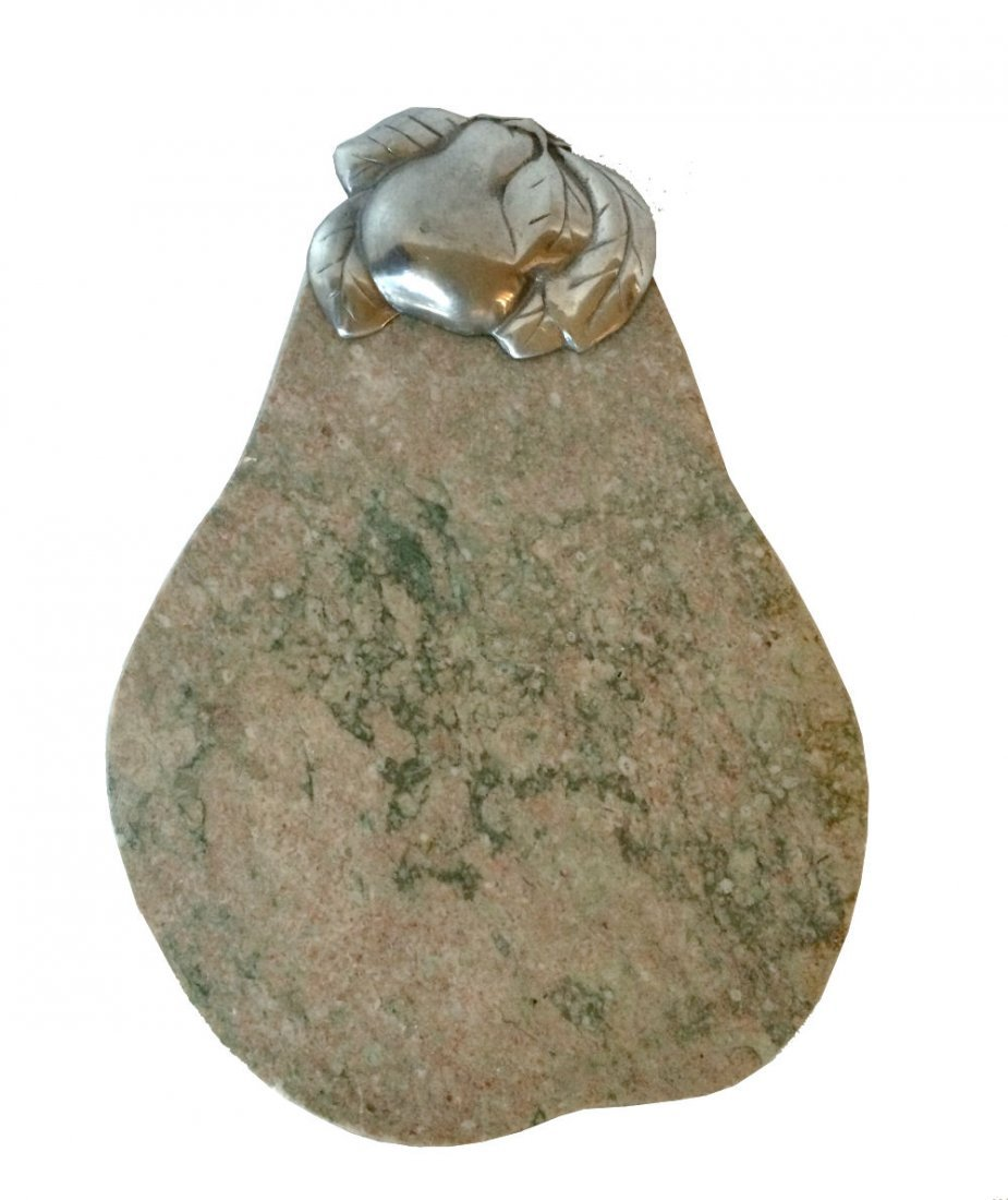 Pear Granite Cutting Board