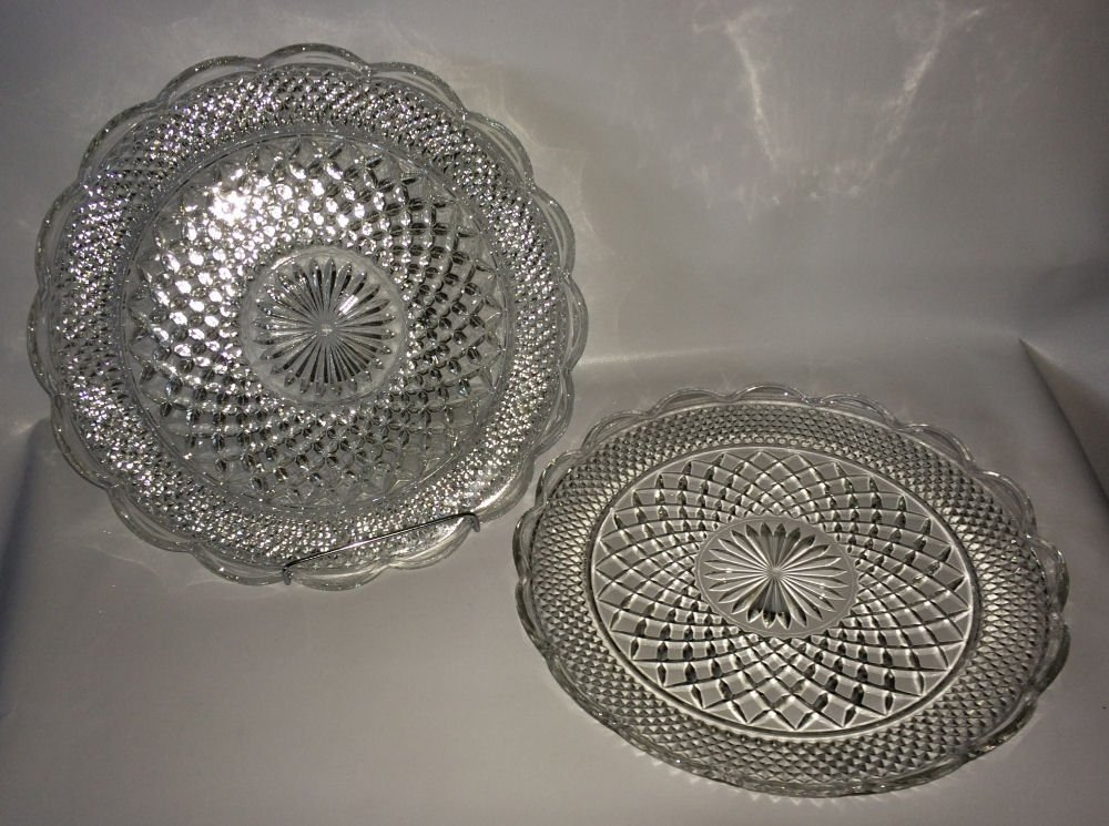 Set/2 Glass Platters