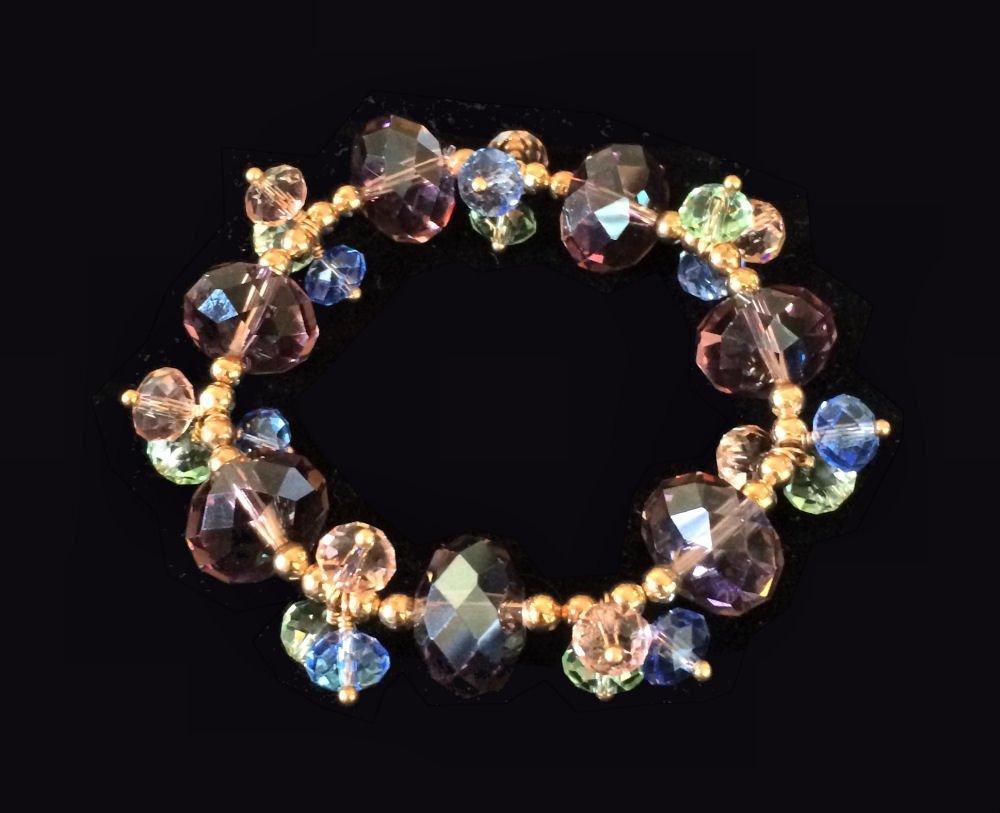 Pastel Crystal Bracelet