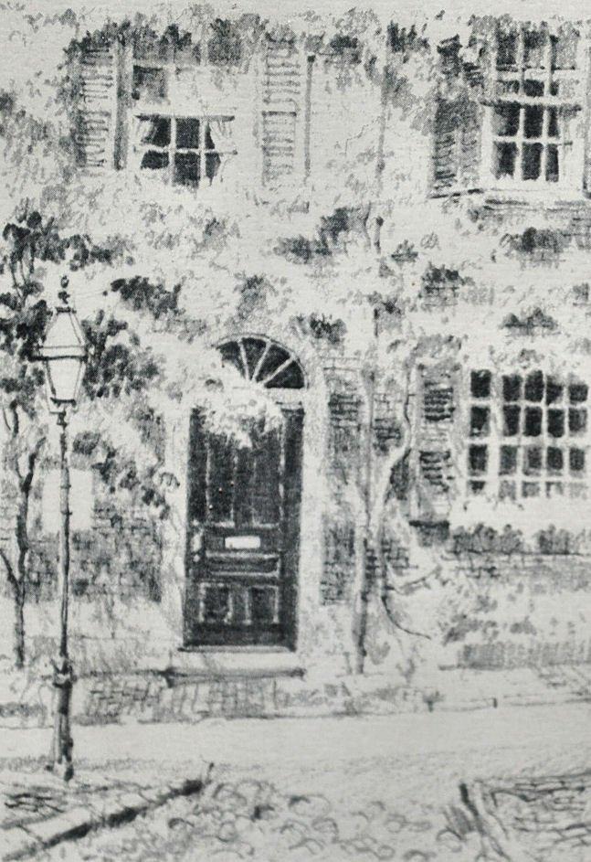JIM TAYLOR Pencil Sketch - Boston