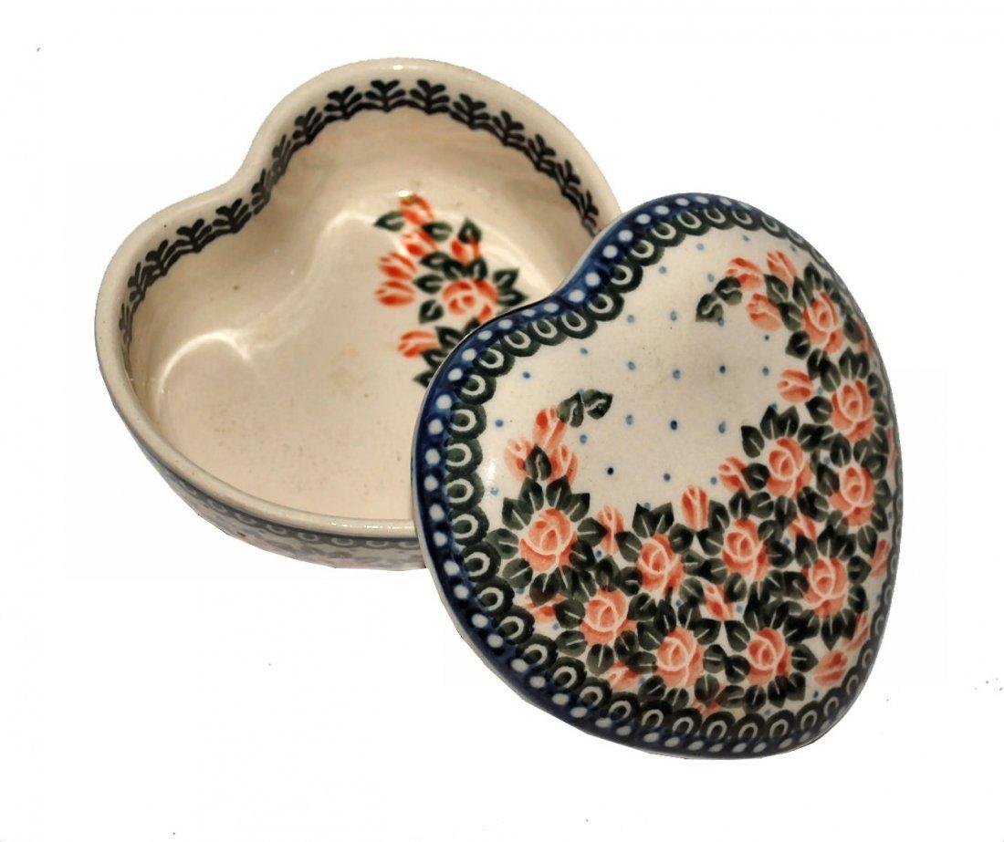 Poland Ceramic Heart Box