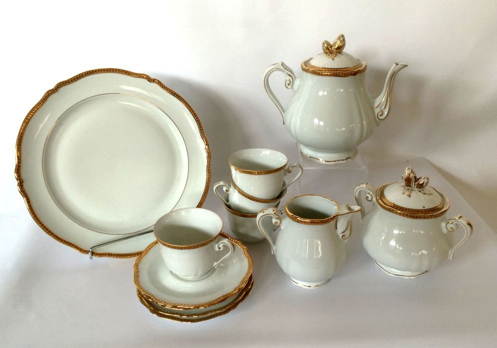 14pc Georges Boyer Limoges China
