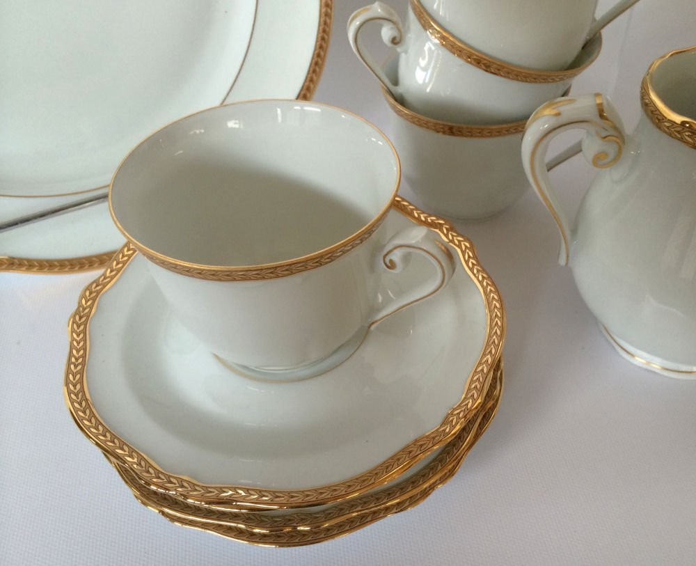 14pc Georges Boyer Limoges China - 3