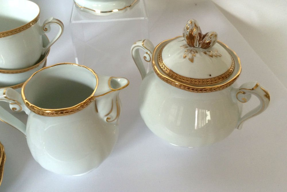 14pc Georges Boyer Limoges China - 4