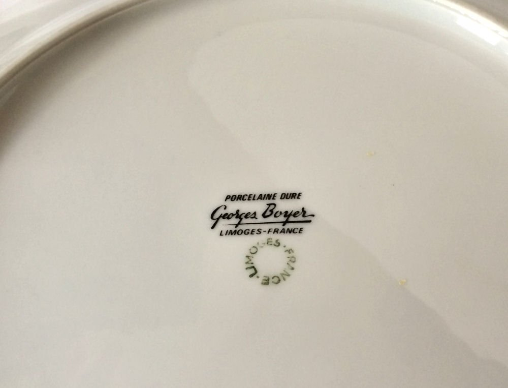 14pc Georges Boyer Limoges China - 5