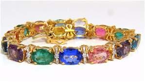 33.21ct natural Sapphires Garnets Emeralds Spinel