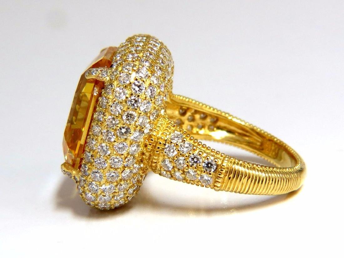 Authentic Judith Ripka Canary Yellow Quartz diamonds - 2